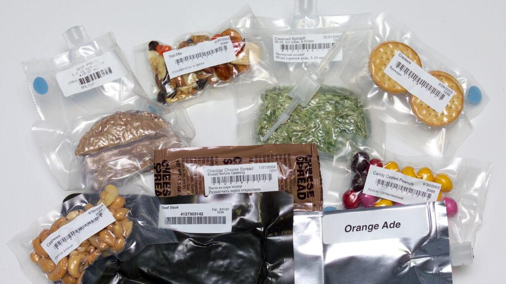 comida astronautas