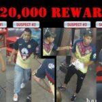 "Policia de Philadelphia, USA ofrece 20 mil dólares de recompensa a quien de informes de estos 4 seguidores del América que atacaron a un grupo de personas ""matando"" a una persona"